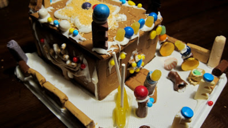 Gingerbread Temples and Beeswax Crayons
