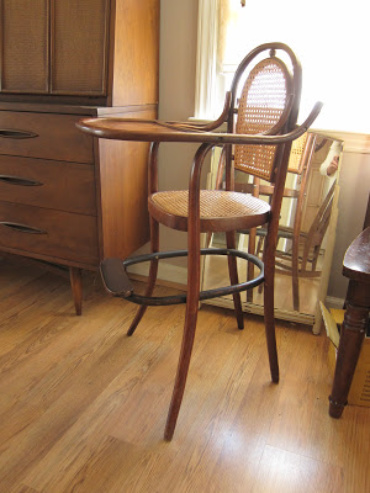 Hello Twenty Twelve! And, A Vintage High Chair