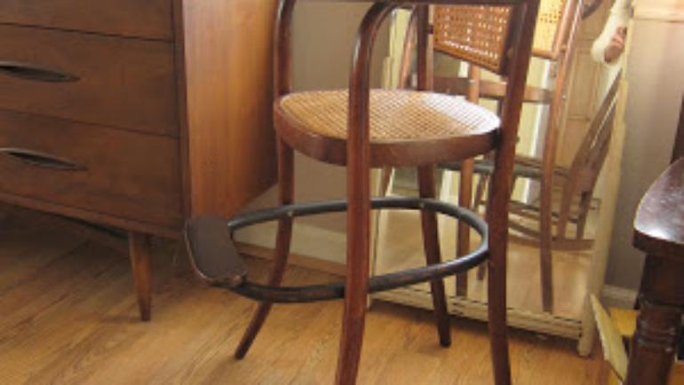 Hello Twenty Twelve! And, A Vintage High Chair