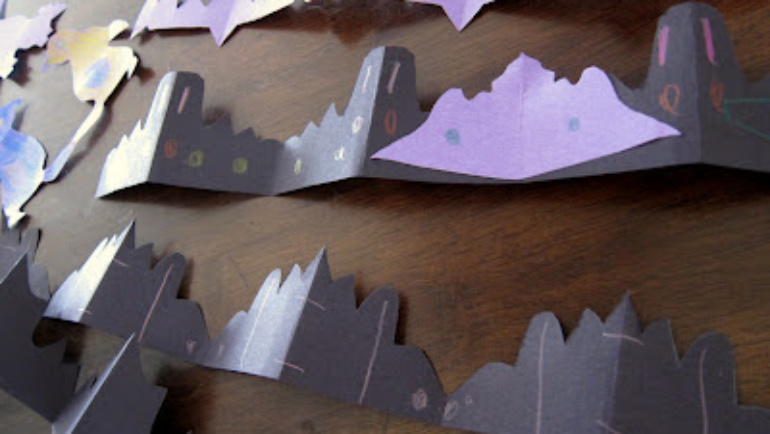 Paper Chain Crowns