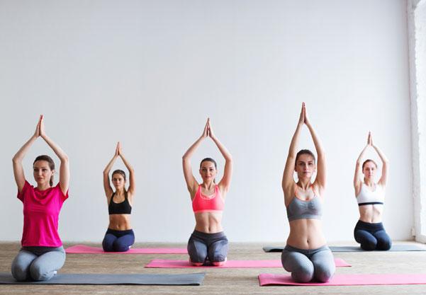 Yoga Essential Oils Practic