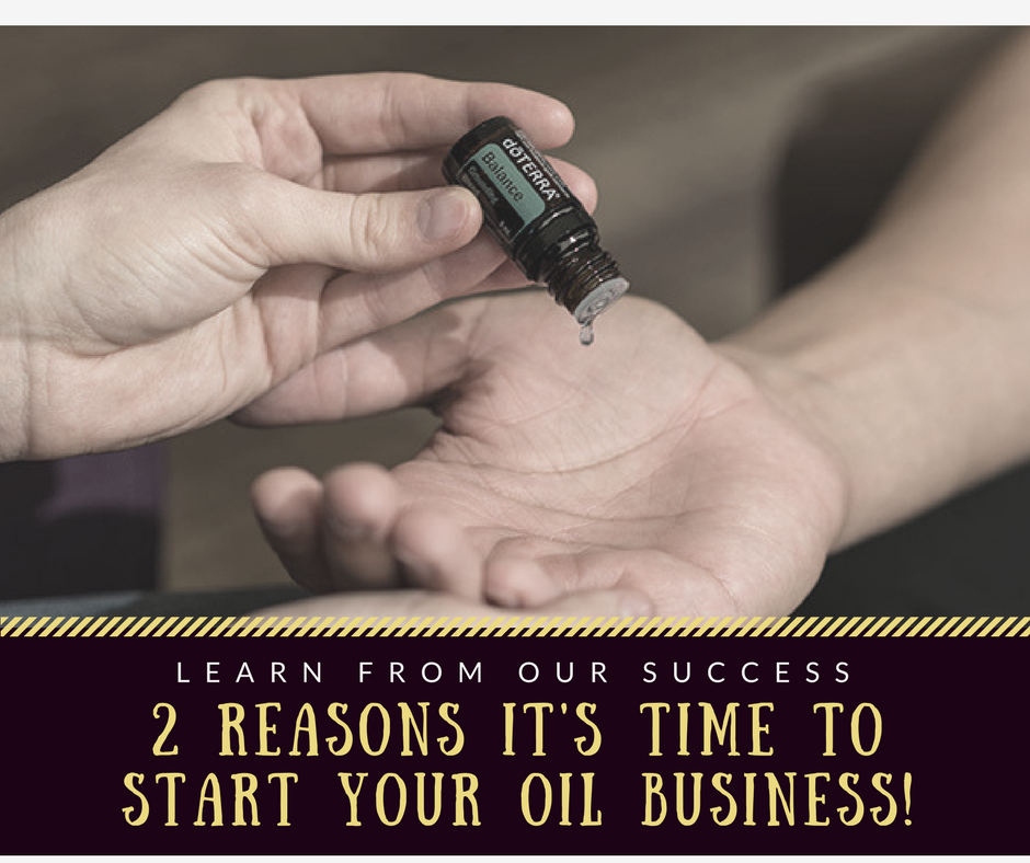 Our Essential Oils Business Has Grown